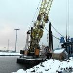 Ruoppauslouhetta Hernesaareen sekä lisää aurinkopaneeleja satamaan