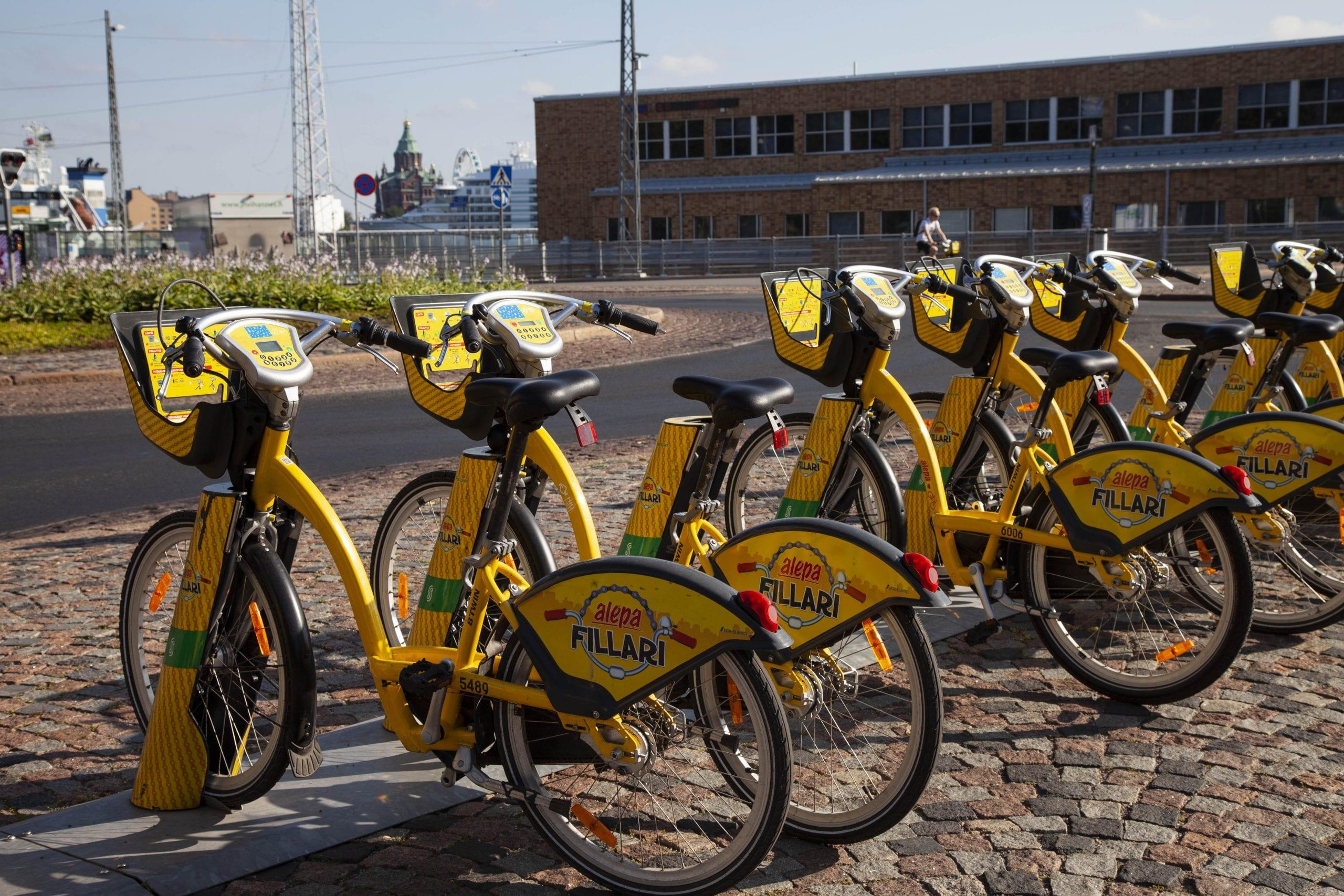 Kaikki uudet pyörät saadaan käyttöön heinäkuun alkuun mennessä. Kuva: HKL
