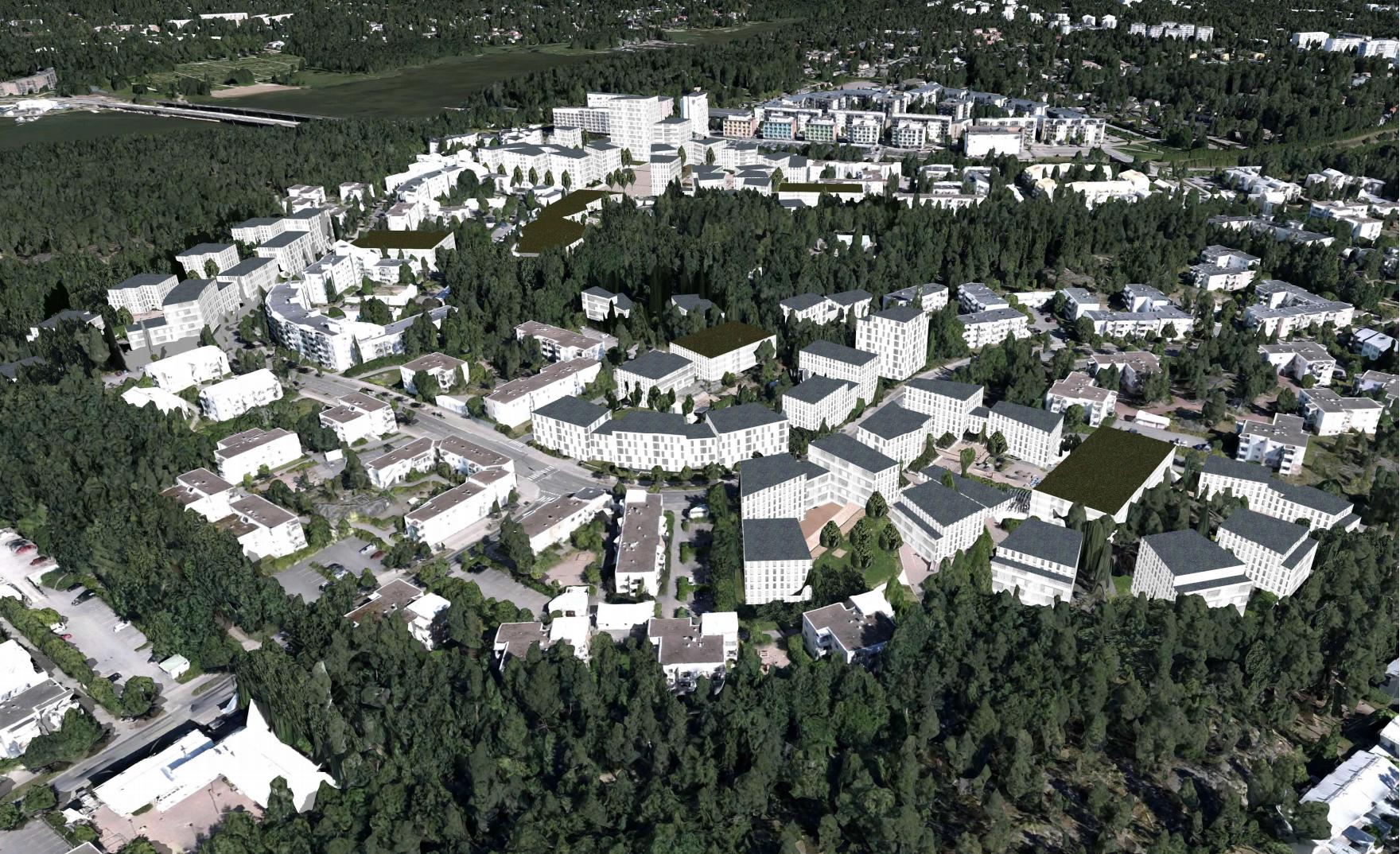 Havainnekuva: Helsingin kaupunki, asemakaavoitus