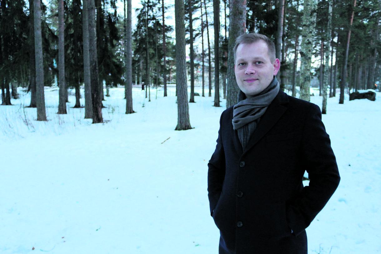 Kenneth Koivula, 35, yksityispankkiiri ja asuntosijoittaja, Merikorttitie