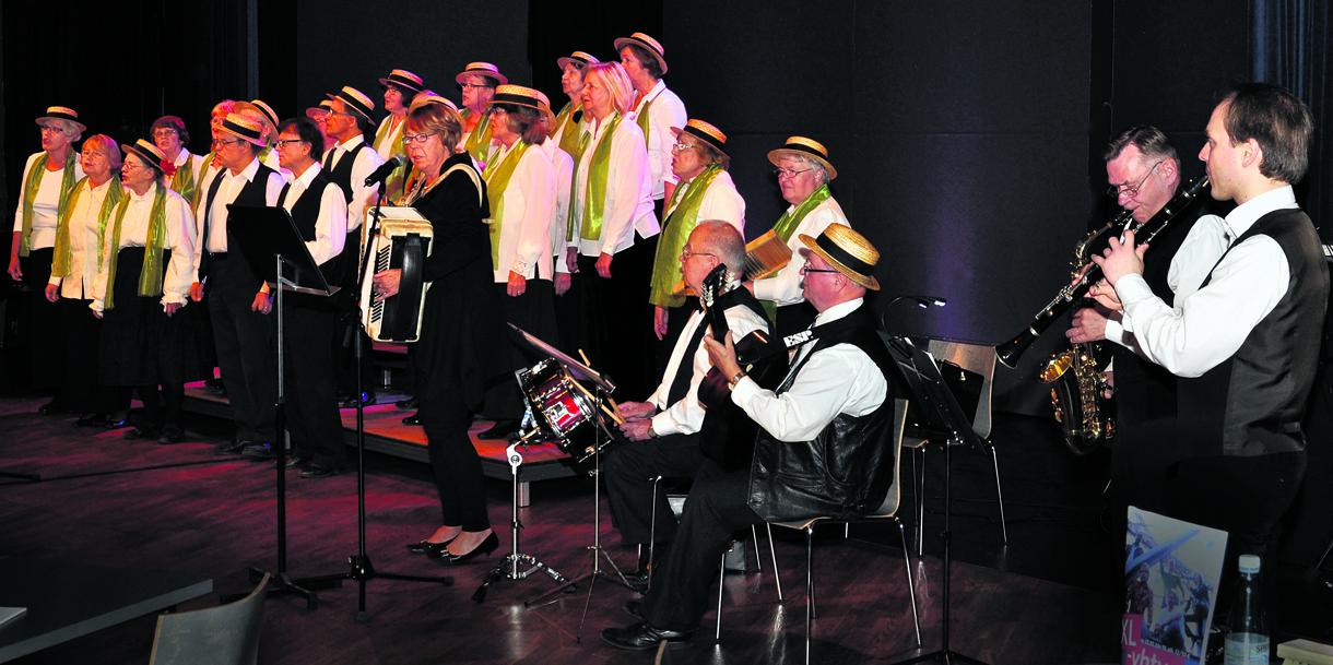 Kuorojen klubi -ilta 2012.              Kuva: Leo Kinnunen