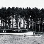 Kallvikin laivalaiturissa vuonna 1909