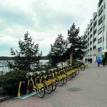 Uudet pyöräasemat tulivat Vuosaareen