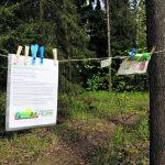 Protesti metsässä