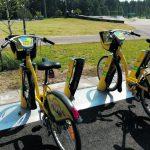 Ilkivalta vaivaa kaupunkipyöräasemaa Vuosaaren liikuntapuistossa