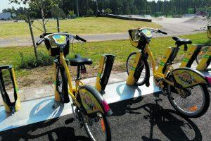 Vuosaaren liikuntapuiston pyöräasema
