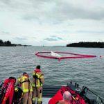 Suuri vene karille – 6 evakuoitiin