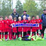 FC Viikinkien 2012 syntyneille pojille turnausmenestystä